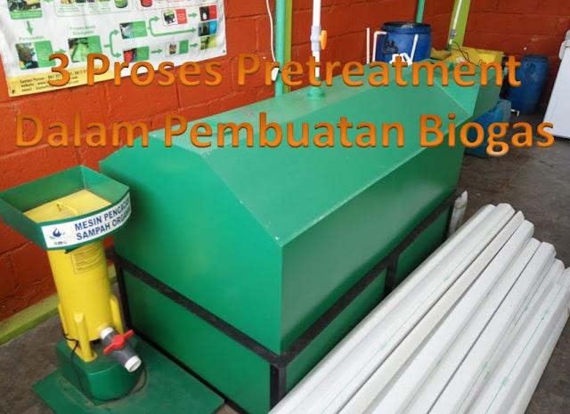 Biogas dihasilkan dengan mesin biodigester