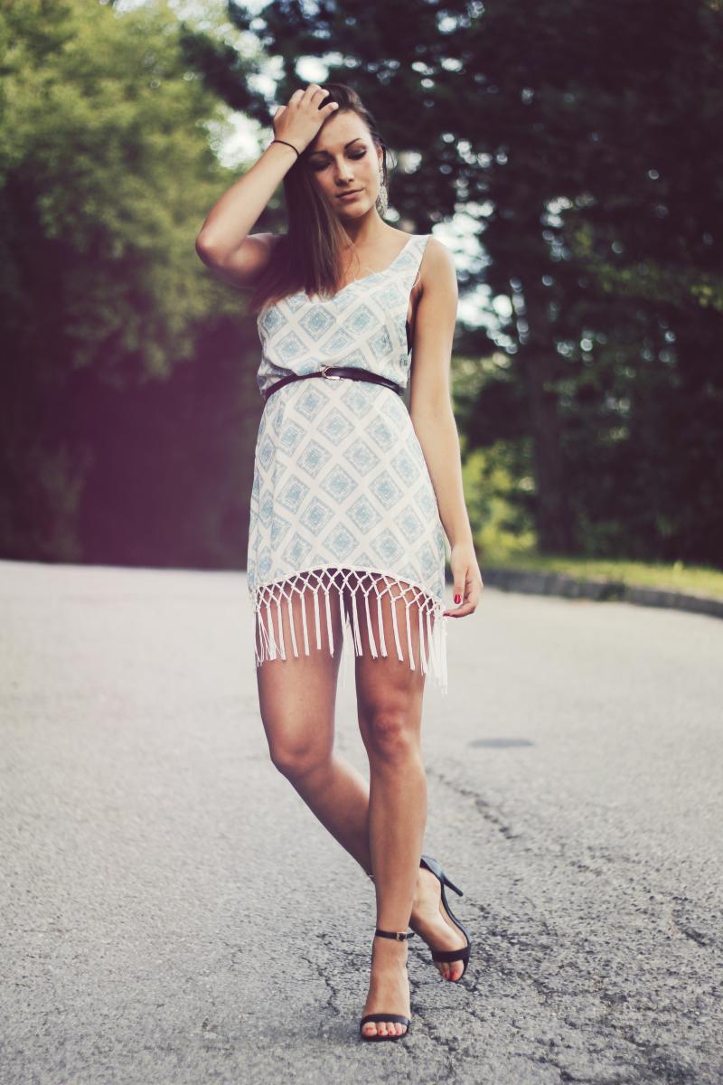 tassel dress