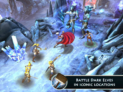 Thor: The Dark World for Android, iPad and iPhone
