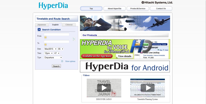 http://www.hyperdia.com/