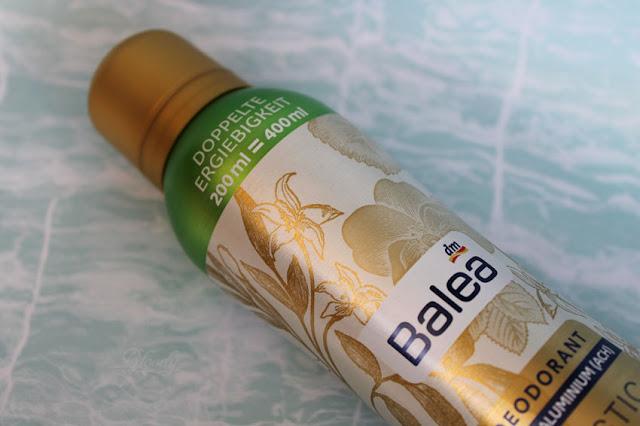 Balea Deodorant 'Mystic Night' mit doppelter Ergiebigkeit im Detail