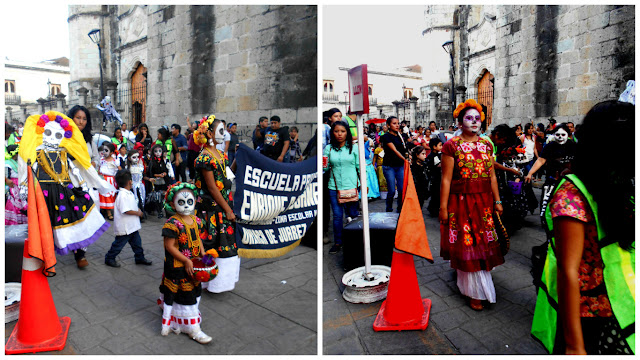 Day of the Dead parade Oaxaca