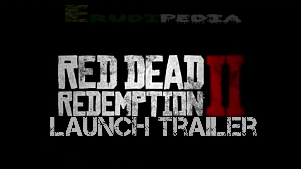 Red Dead Redemption 2 trailer launch video