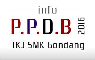 PPDB TKJ SMK Gondang Pekalongan 2016