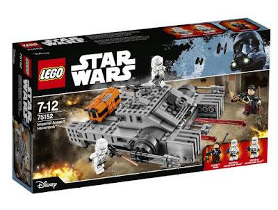 JUGUETES - LEGO Star Wars Rogue One  75152 Assault Hovertank Imperial  2016 | PELICULA | Piezas: 385| Edad: 7-12 años  Comprar en Amazon España