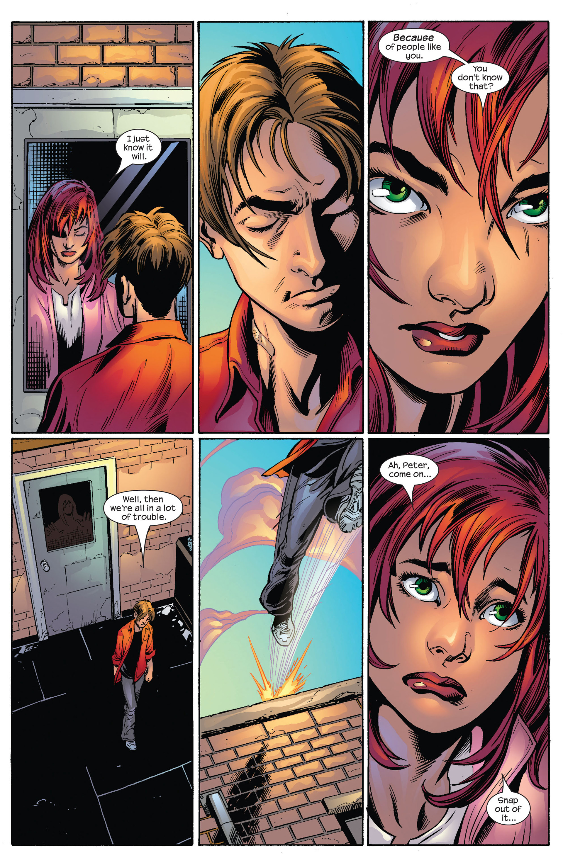 Read online Ultimate Spider-Man (2000) comic -  Issue #65 - 16