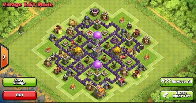 Base COC Buatan The Trion Farming