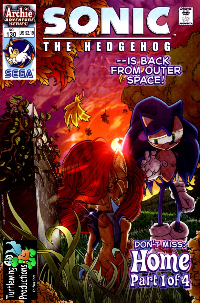 Read online Sonic The Hedgehog comic -  Issue #130 - 1