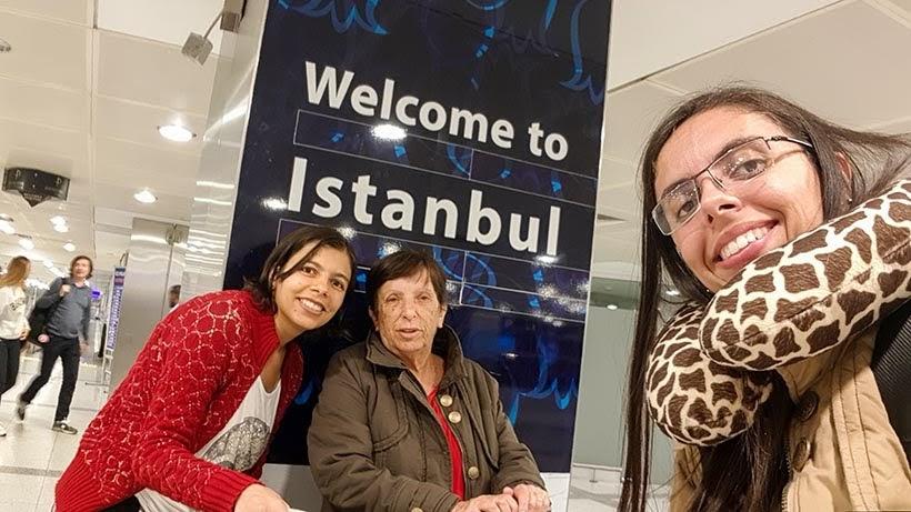 Aeroporto de Istambul - Pagando mico: sem falar inglês na Europa