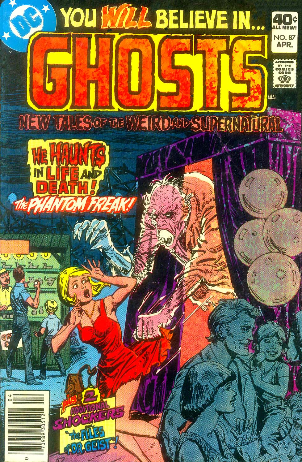 Read online Ghosts comic -  Issue #87 - 2