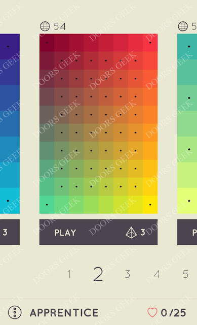 I Love Hue Apprentice Level 2 Solution, Cheats, Walkthrough