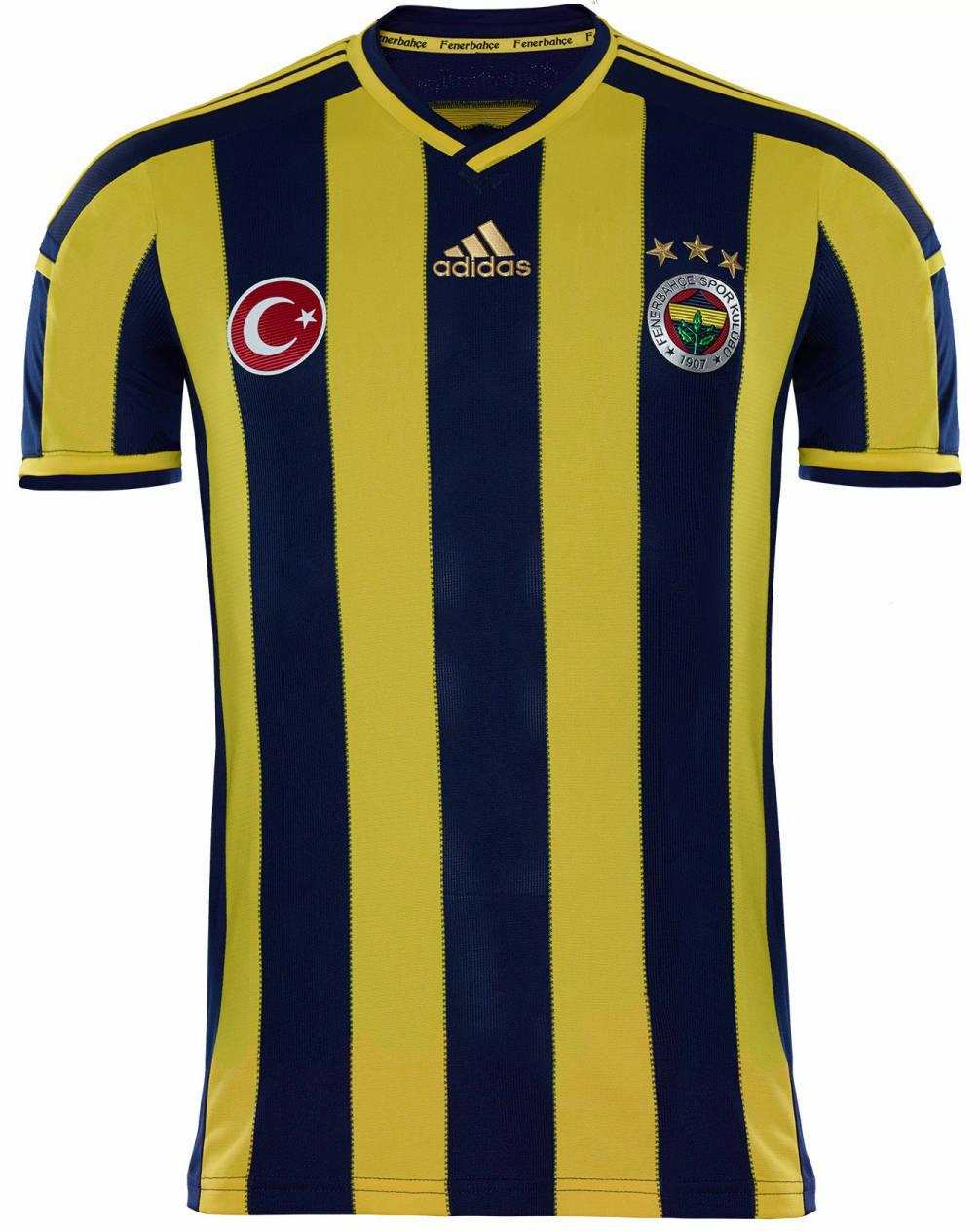 New Fenerbahçe 14-15 Kits Released
