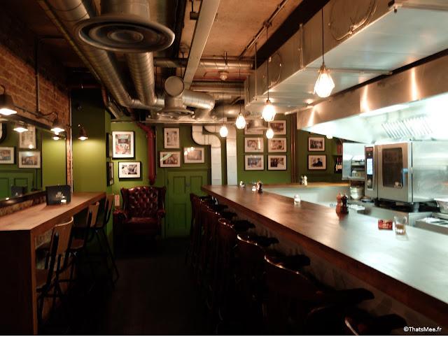 sous-sol bar irish restaurant Zoilo argentin Londres