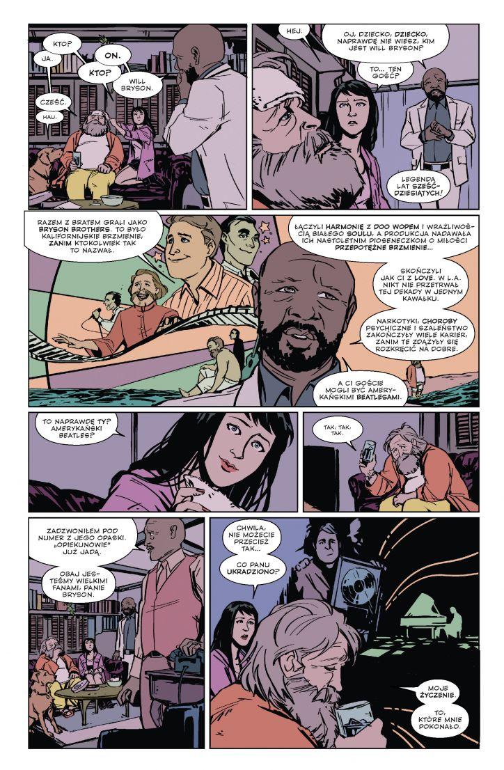 Hawkeye tom 3: L.A. Woman przykładowa strona
