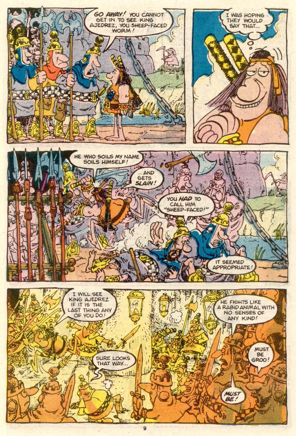 Read online Sergio Aragonés Groo the Wanderer comic -  Issue #24 - 10