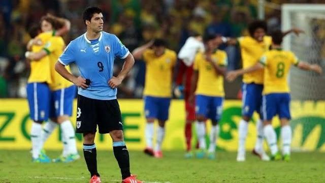 De volta ao Uruguai após 21 meses, Suárez tem um tabu contra o Brasil