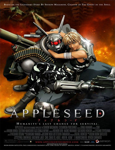 Ver Appurushîdo (Appleseed: The Beginning) (2004) Online
