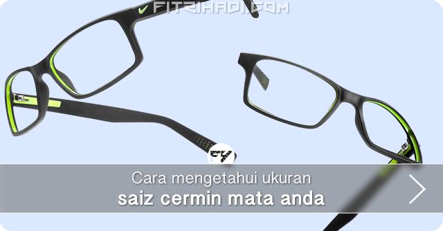 Tips Cara mengetahui ukuran saiz cermin mata