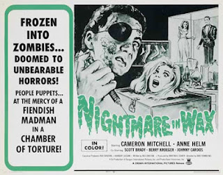 Poster - Nightmare in Wax (1969)