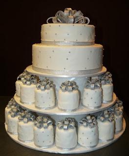 3 - Bolo de Casamento Clássico - Inspirações