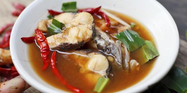 Resep Sup Patin Kuah Merah