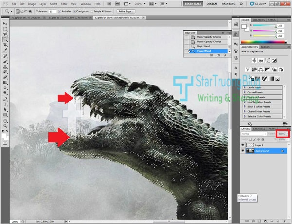 Hướng dẫn cắt ghép ảnh đơn giản với phần mềm Photoshop CC/CS5/CS6