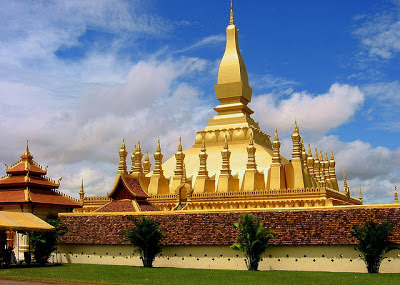 Pha That Luang Buddhist Temple