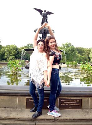 Mama y yo En Central Park nueva York