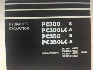 Shop Manual Komatsu PC300-8 PC300LC-8 PC350-8 PC350LC-8