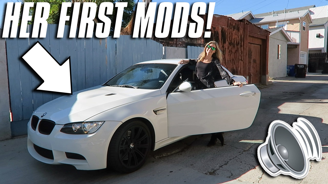 WATCH: STRAIGHT PIPING MY WIFE'S E93 M3! - throtl Media and