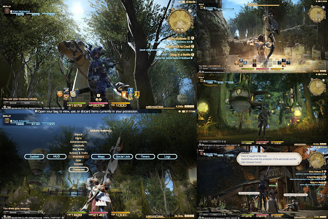 Final Fantasy XIV : A Realm Reborn - Screenshots PS3