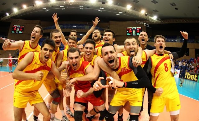 Volleyball: Makedonien im Final Four der European League