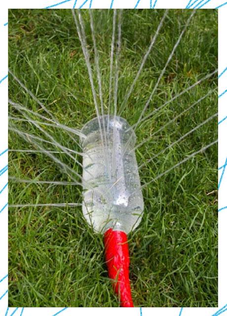 DIY คลายร้อนกับสปริงเกอร์จากขวดพลาสติกทำเองง่ายๆ