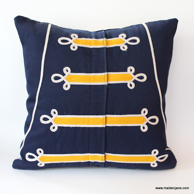 From Marching Band Uniform to Memory Pillow Graduation Gift