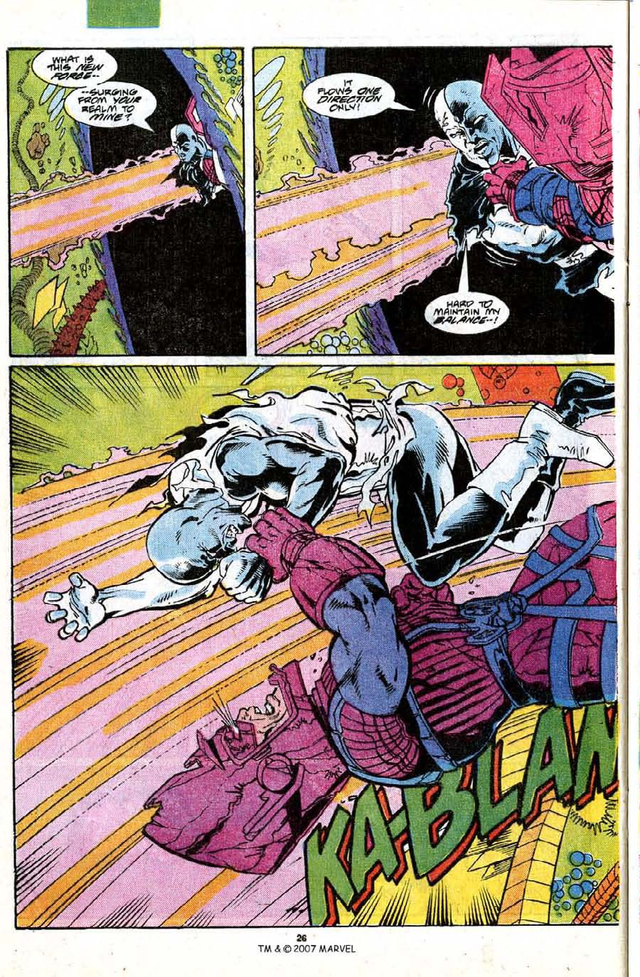 Read online Silver Surfer (1987) comic -  Issue #18 - 28