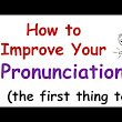 How to improve your English pronounciation