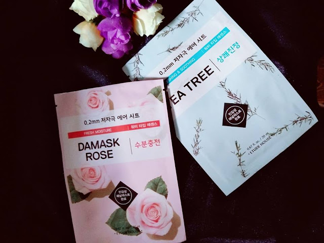 Review ETUDE HOUSE 0.2 Therapy Air Mask (Damask Rose dan Tea Tree)
