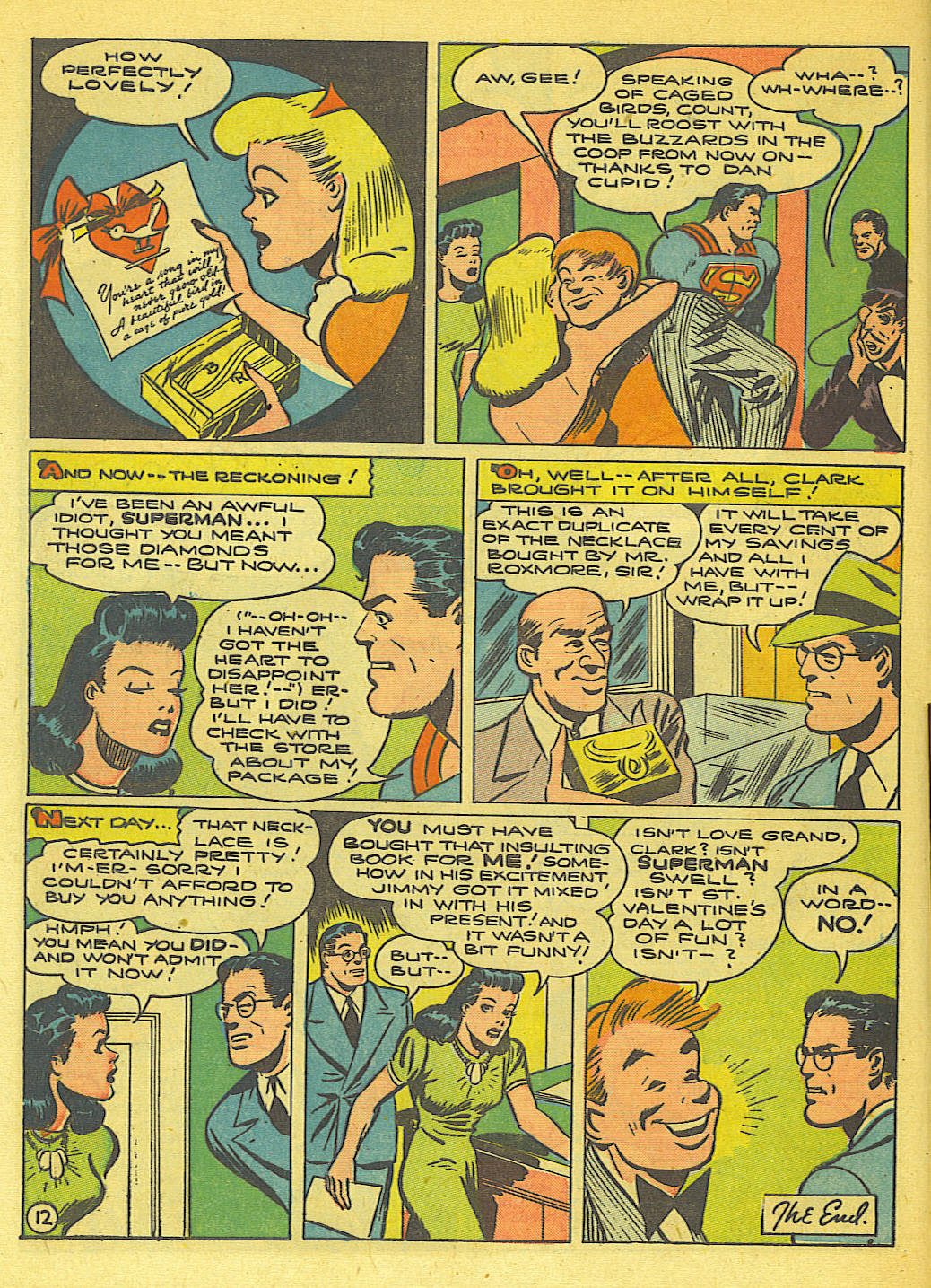 Read online Action Comics (1938) comic -  Issue #71 - 14