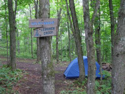Leskinen Creek Camp