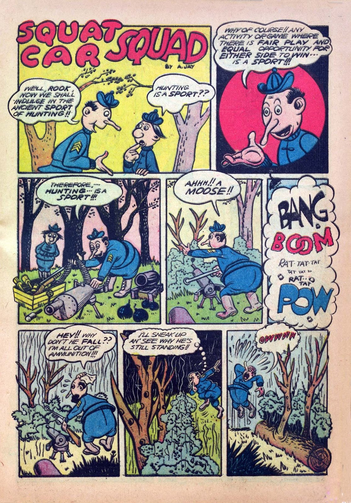 Read online Joker Comics comic -  Issue #7 - 17