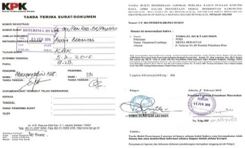 Contoh Surat Pengaduan Korupsi Ke Kejaksaan Contoh Seputar Surat