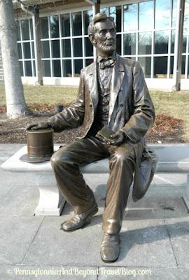 Gettysburg National Military Park Museum in Pennsylvania - President Lincoln