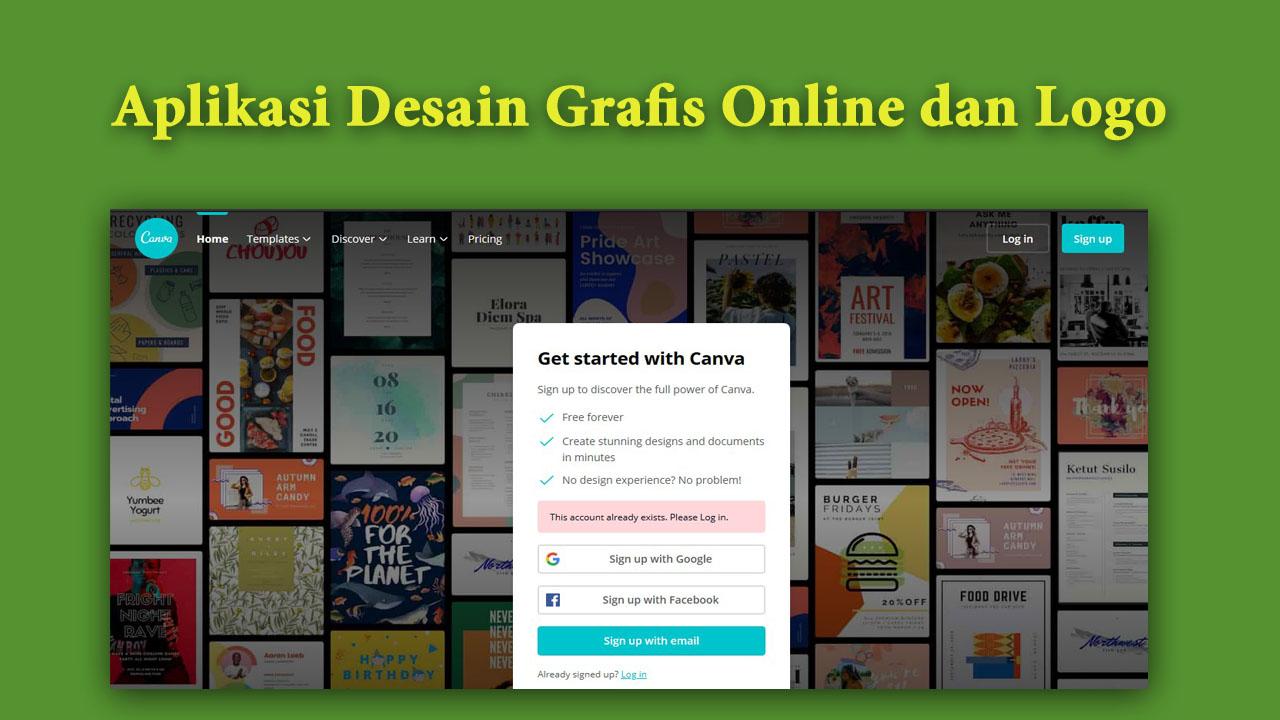 Aplikasi Desain Grafis Online dan Logo