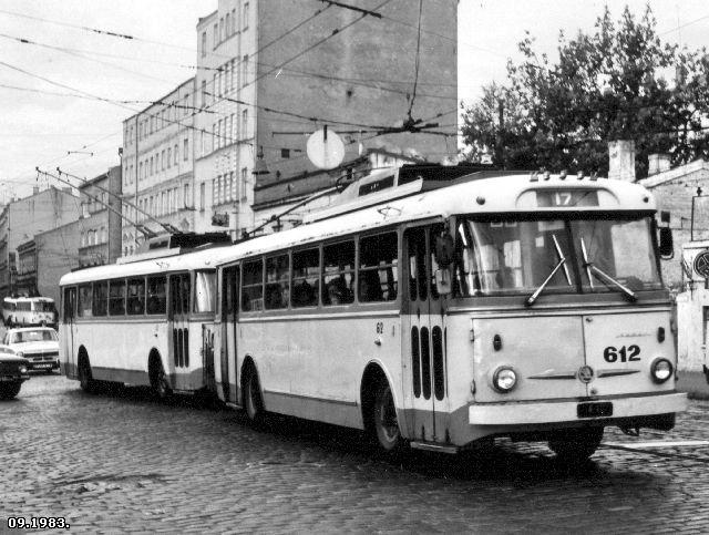 троллейбус поезд по системе Веклича