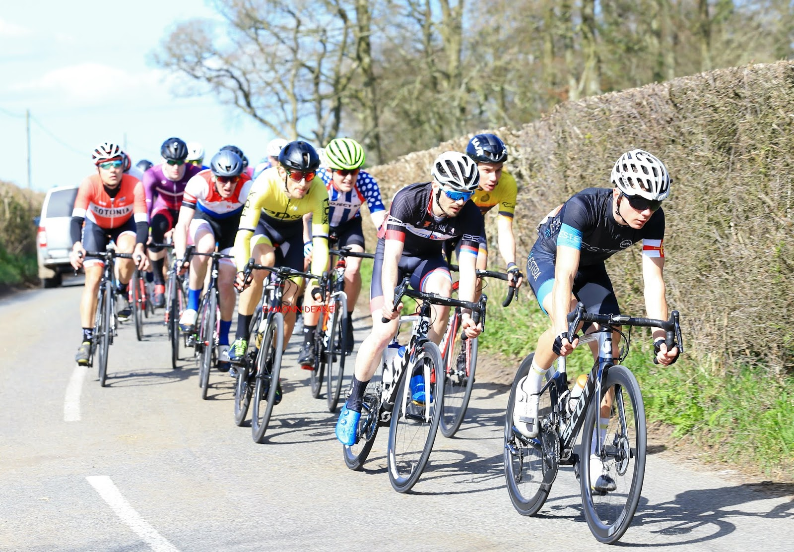 Local Riders,Local Races: Welburn Wraps up Sandison Win in