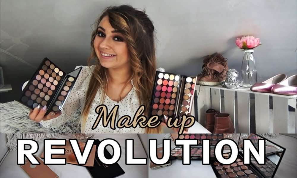 RECENZJA Paletek Cieni Make up REVOLUTION... ღ ?! / Review Make up Revolution...? by Kinga ღ