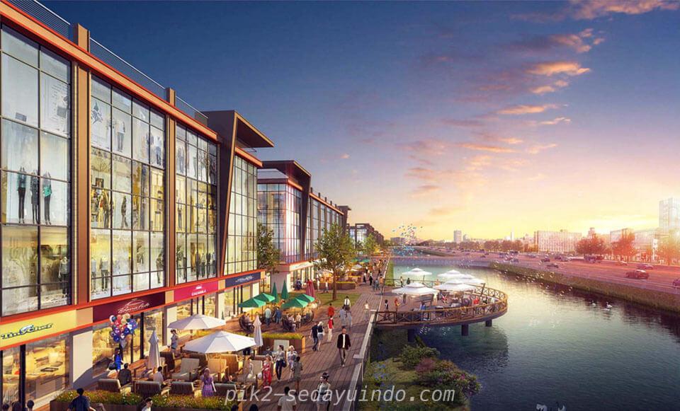 View Retail Area @ Osaka Riverview