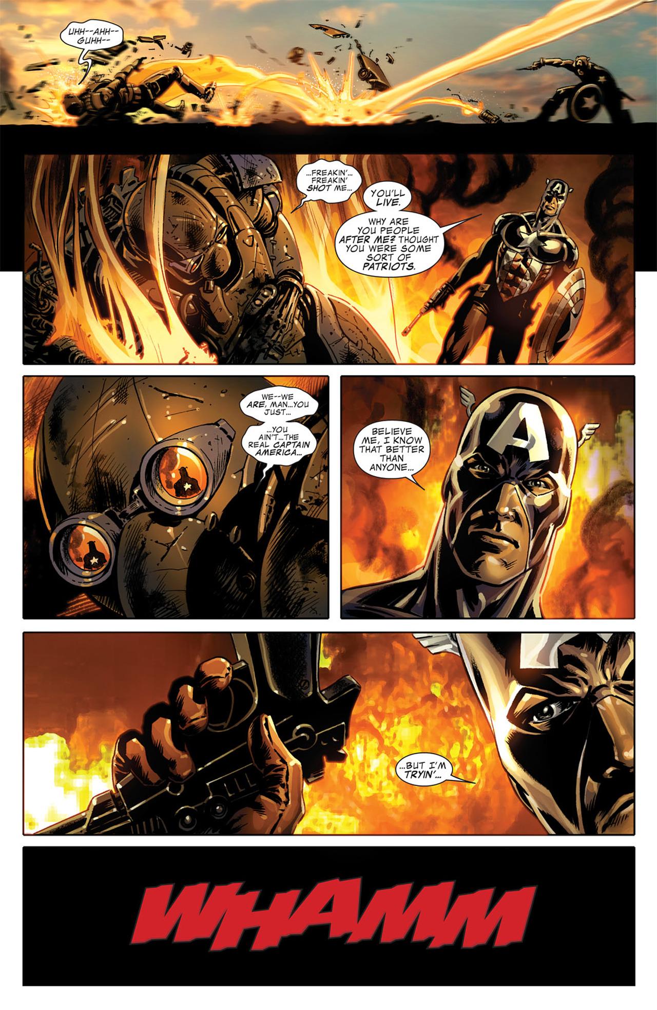Read online Captain America (2005) comic -  Issue #50 - 21