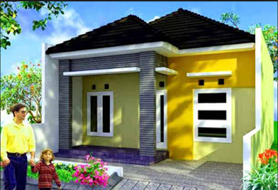 Inspirasi Rumah Nuansa Kuning Ceria 2