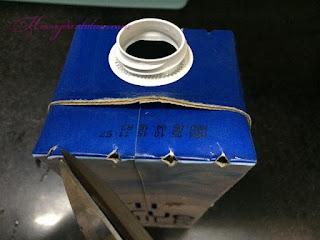 làm giá đỗ bằng vỏ hộp sữa